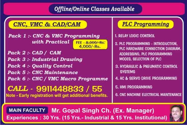 Online-CNC-PLC-VMC-Automation-Industrial-Training-in-Gurgaon